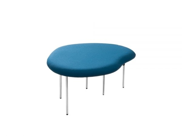 Upholstered fabric bench seating DROPLETS 183 by Capdell