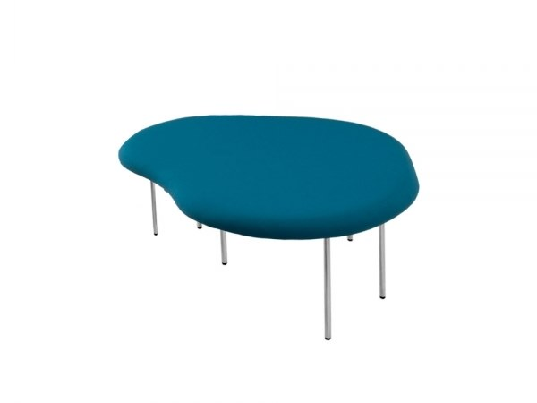 Upholstered fabric bench seating DROPLETS 184 by Capdell