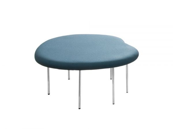 Upholstered fabric bench seating DROPLETS 185 by Capdell