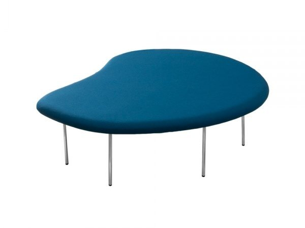 Upholstered fabric bench seating DROPLETS 187 by Capdell