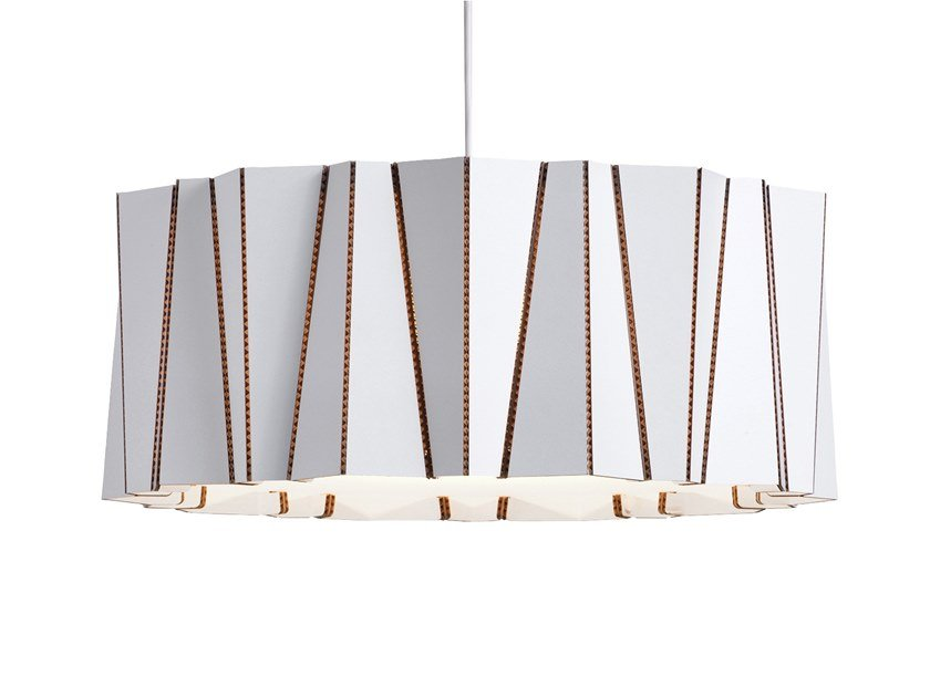 Cardboard pendant lamp DRUM   Cardboard pendant lamp by Arkki by Lovi