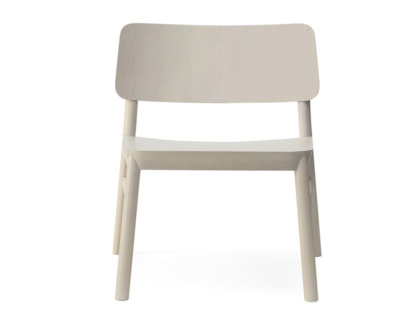 Beech easy chair DRUM | Easy chair by BILLIANI