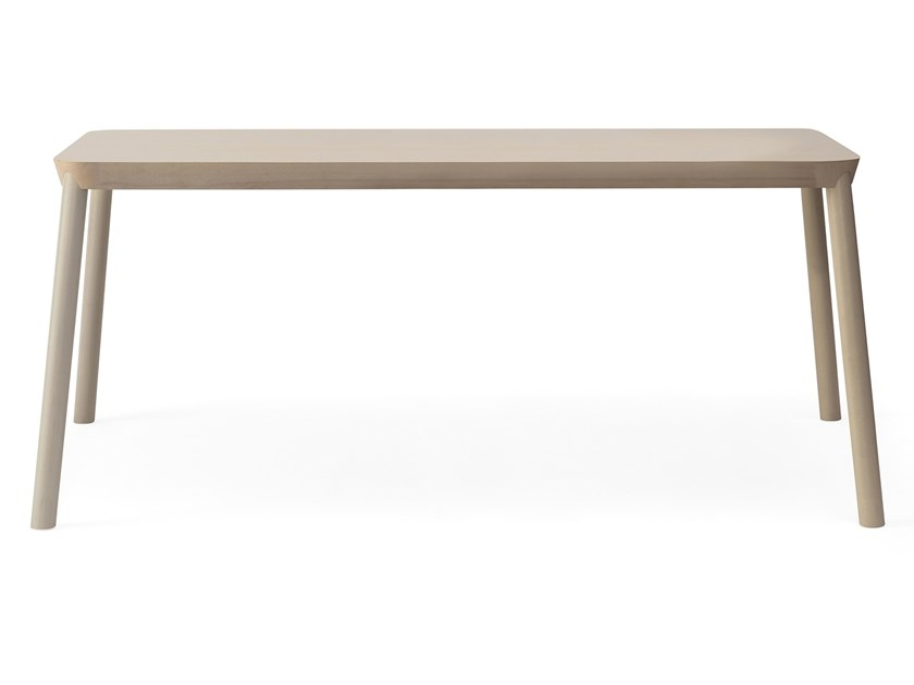 Rectangular beech dining table DRUM | Rectangular table by BILLIANI