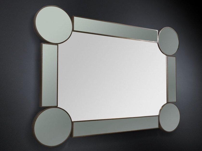 Wall-mounted framed hall mirror DRUMMOND   Rectangular mirror by VGnewtrend