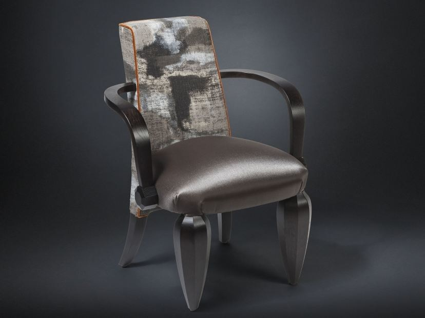 Fabric easy chair with armrests DRUMMOND   Easy chair by VGnewtrend