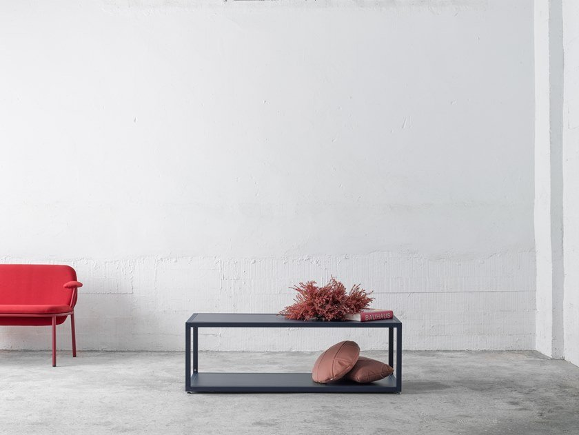 Bookcase / coffee table DRY MODULE 1 by ONDARRETA