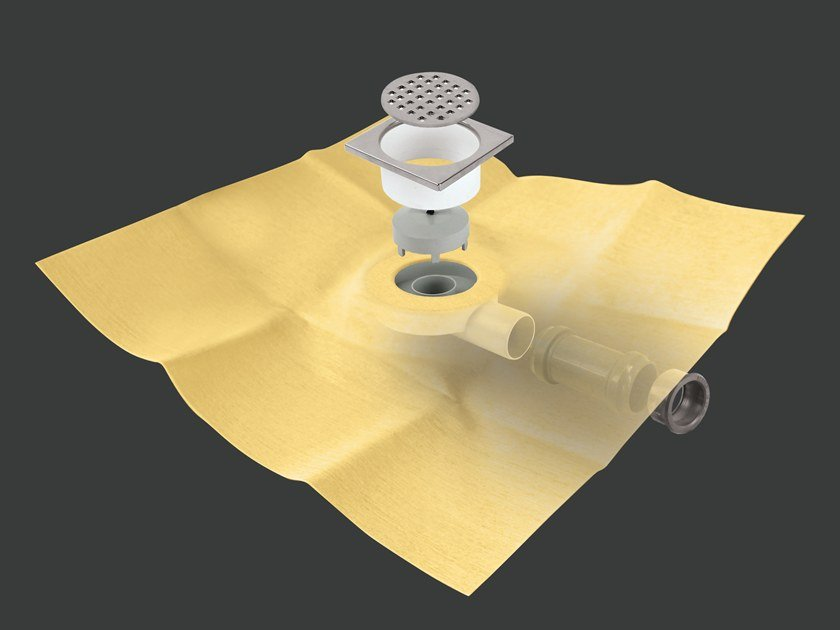 Canal de ducha de metal DRY50 SUMI FLAT LUXE by Revestech