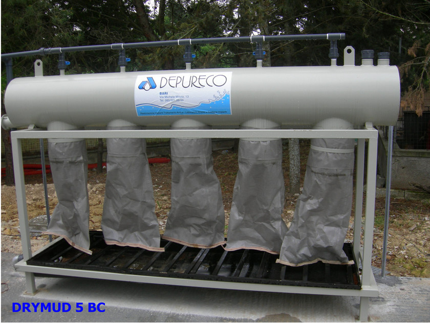 Purification and disposal system DRYMUD by DEPURECO