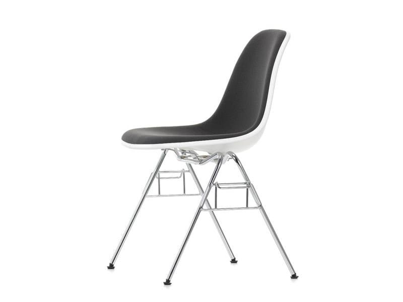 Cadeira de conferência empilhável de tecido DSS | Cadeira de conferência de tecido by Vitra
