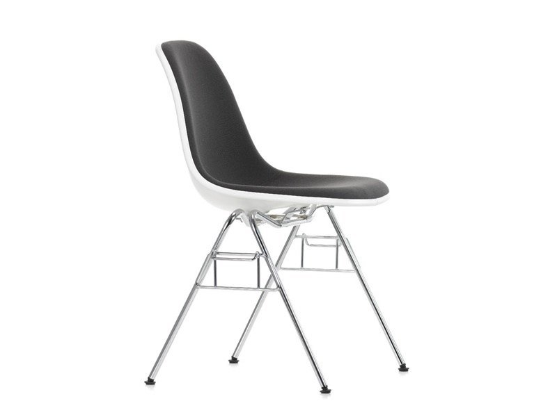 Stackable fabric training chair DSS-N | Fabric training chair by Vitra