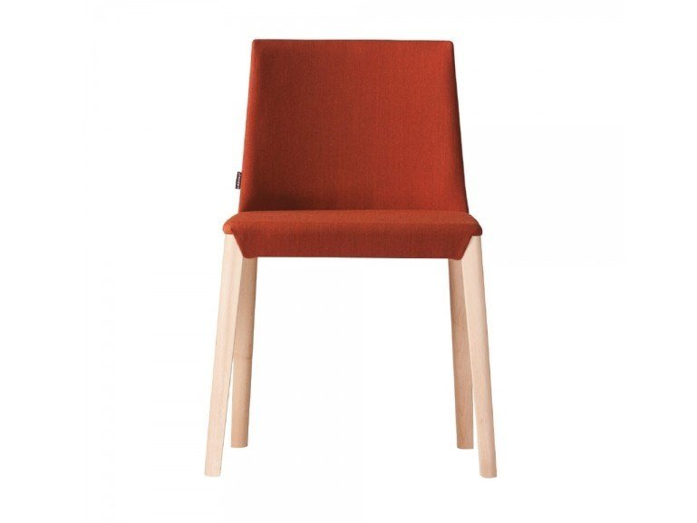Upholstered fabric chair DUAL 480B by Capdell