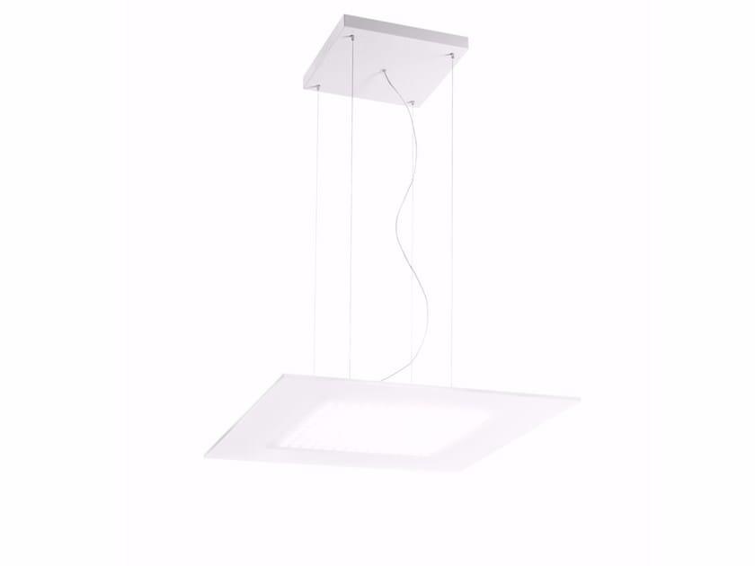 Lampada a sospensione a LED in PMMA DUBLIGHT_PQ by Linea Light Group