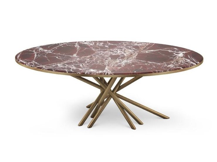 Marble coffee table DUCHESS | Coffee table by Malabar