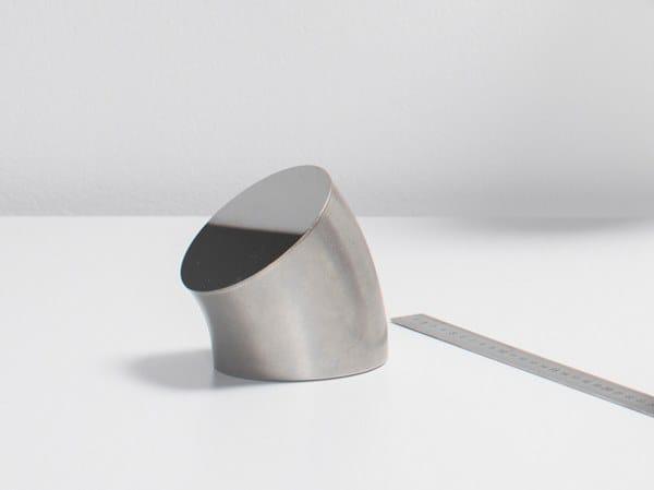 Specchio da appoggio in acciaio inox DUCT   Specchio da appoggio by valerie_objects