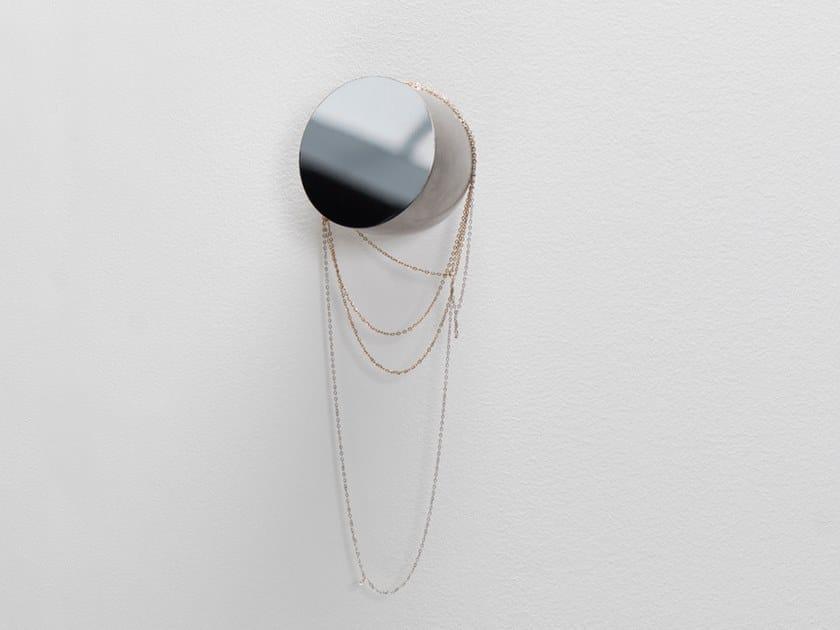 Specchio in acciaio inox a parete DUCT | Specchio a parete by valerie_objects
