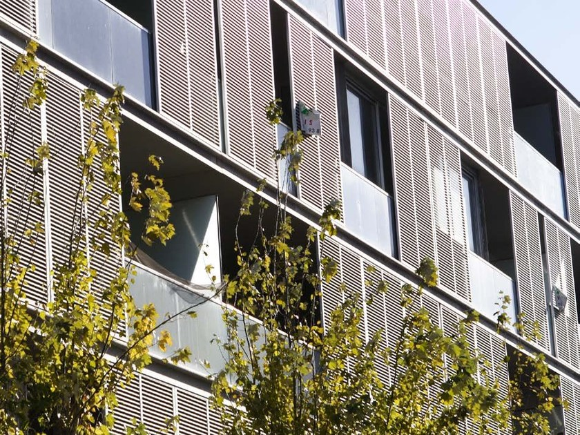 Sliding aluminium solar shading DUFIX 60Z   Solar shading by INDÚSTRIAS DURMI