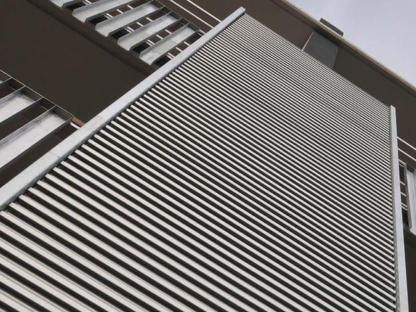 Aluminium solar shading DULINE 100Y by INDÚSTRIAS DURMI