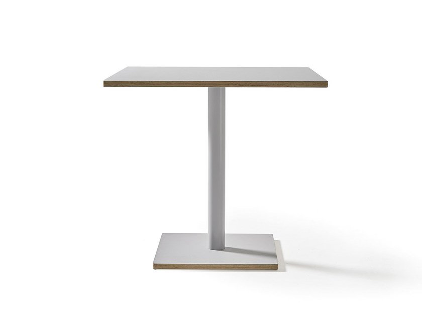 Square table DUMBBELL | Square table by Sancal