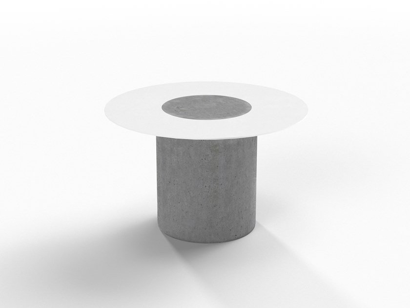 Cement coffee table / bedside table DUMBO by Forma&Cemento