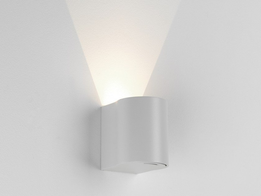 LED aluminium wall lamp DUNBAR 100 by Astro Lighting