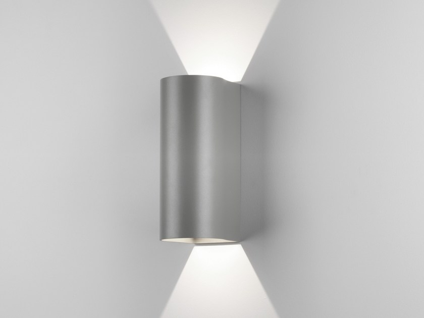 LED direct-indirect light aluminium wall lamp DUNBAR 255 by Astro Lighting