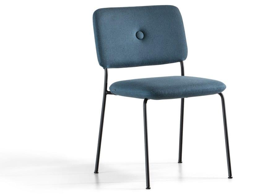 Sedia impilabile in tessuto DUNDRA 4 | Sedia by Blå Station