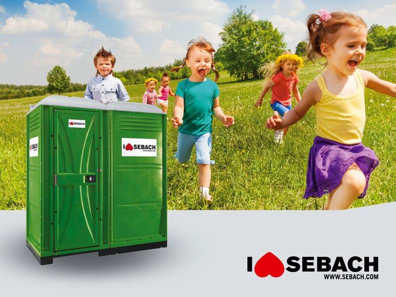 Chemical Portable WC DUO BIMBI by sebach