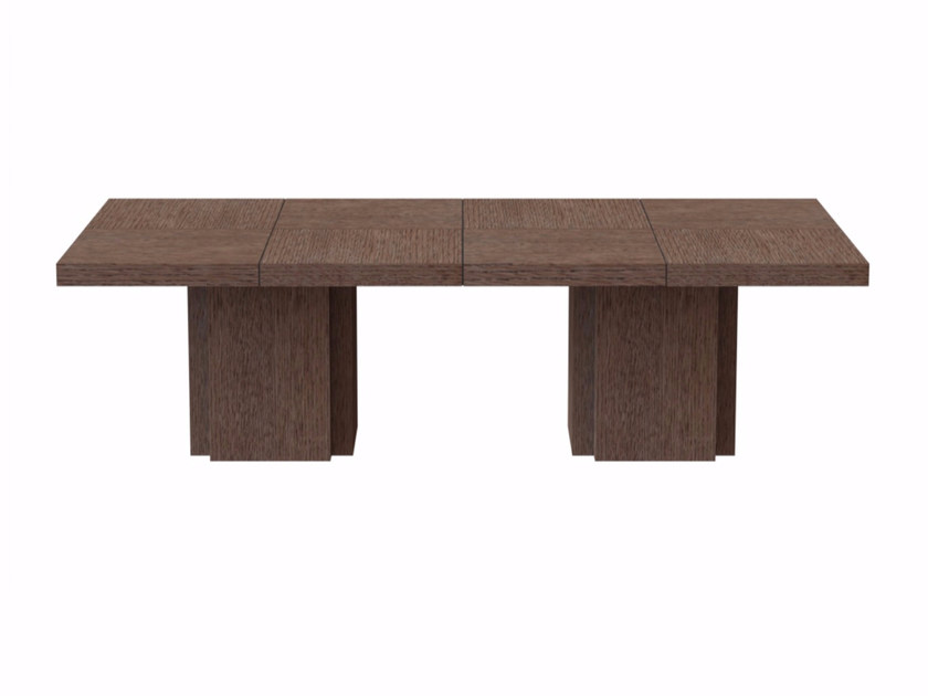 Rectangular dining table DUSK | Rectangular table by TemaHome
