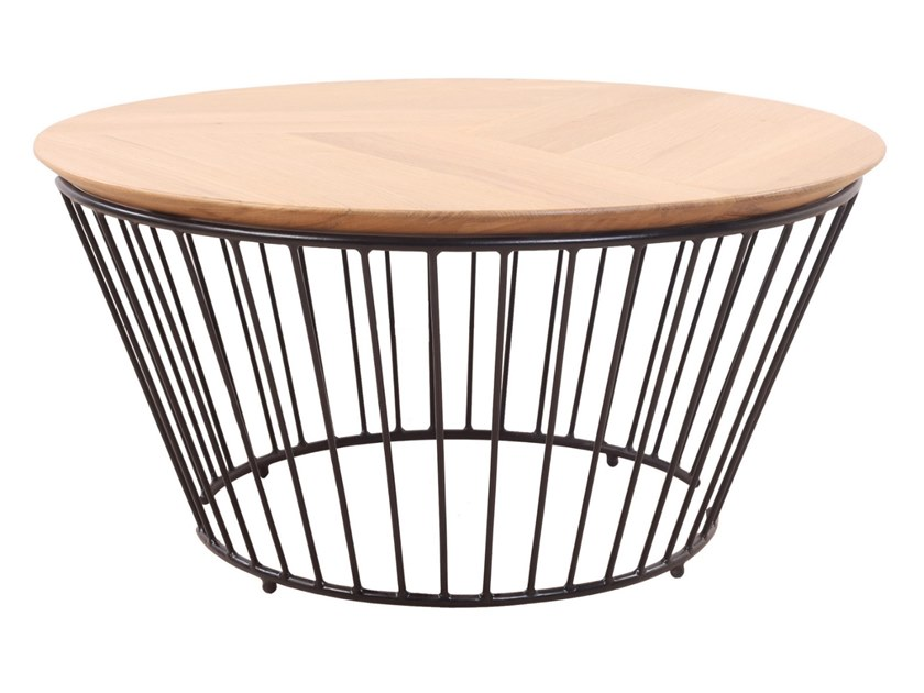Round coffee table DUVAR by ALANKARAM