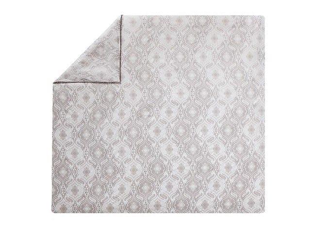 Damask reversible printed cotton duvet cover NAMASTE   Duvet cover by Alexandre Turpault