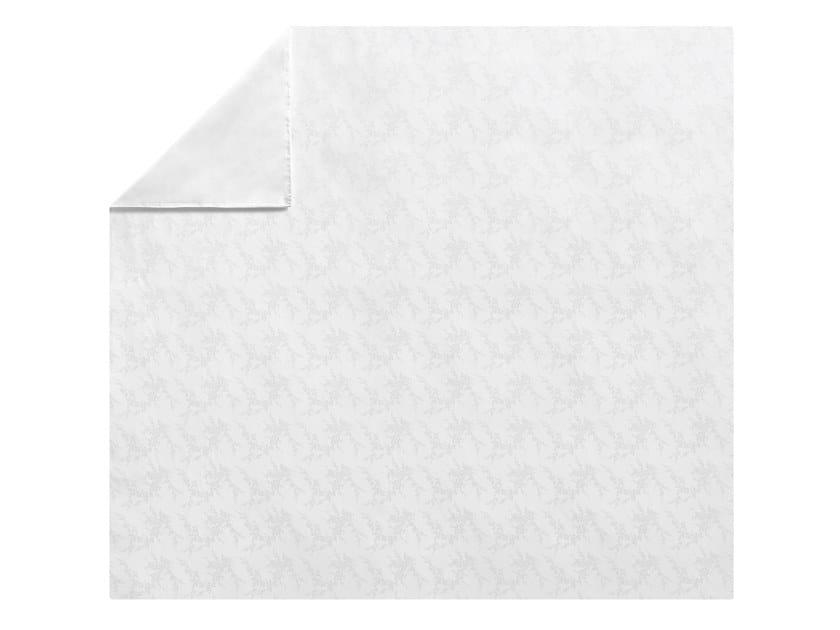Jacquard cotton duvet cover with floral pattern AVRIL | Duvet cover by Alexandre Turpault
