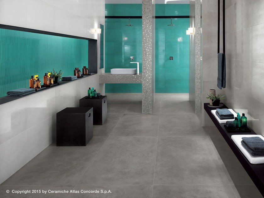 White-paste wall tiles with resin effect DWELL WALL | White-paste wall tiles by Atlas Concorde