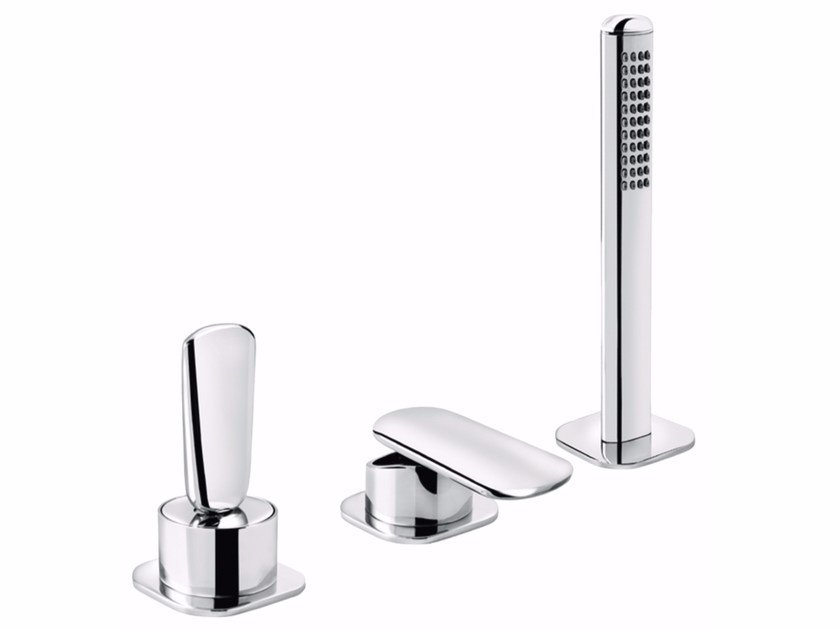 3 hole bathtub set with hand shower DYNAMICA JK 89 - 8948442 by Fir Italia