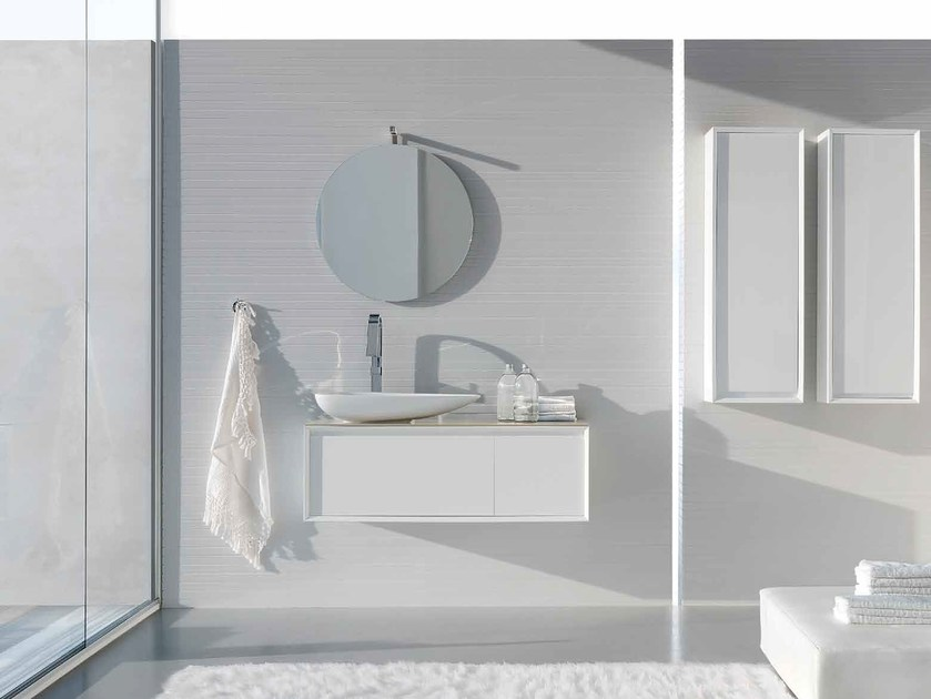 Bathroom Cabinet Vanity Unit Pollock Composition 37 Collection By Arcom