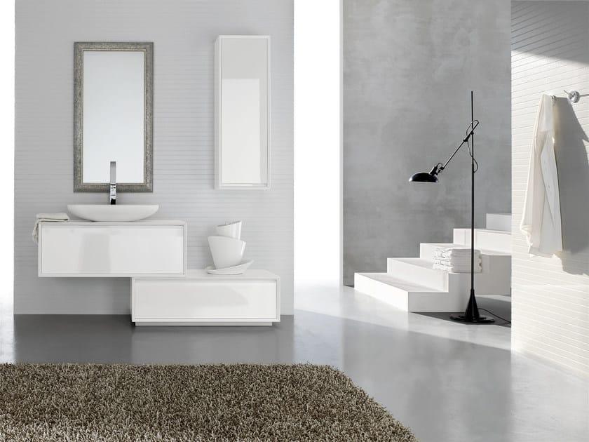 Bathroom cabinet / vanity unit E.45 COMPOSITION 3 by Arcom