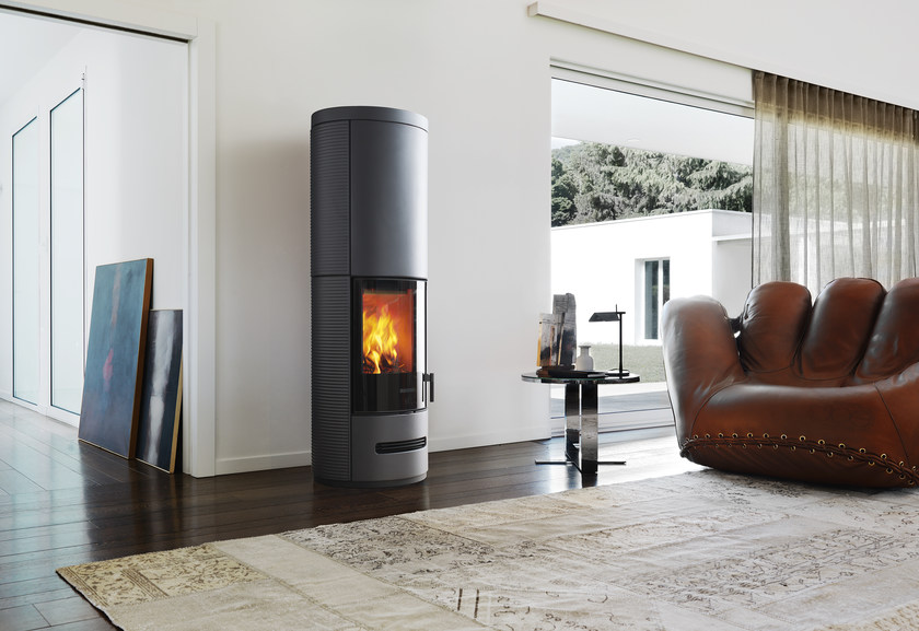 Wood-burning stove E 929 DH | Wood-burning stove by Piazzetta