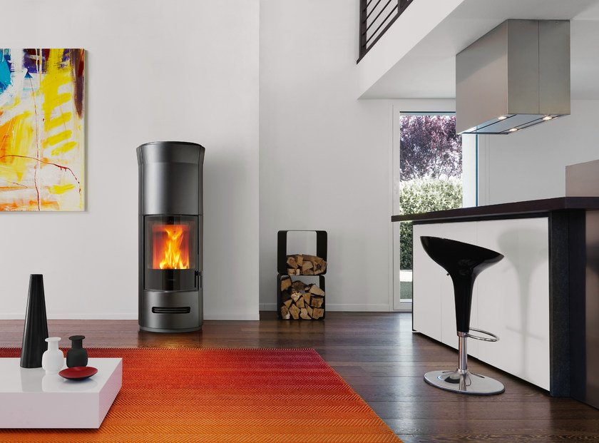 Wood-burning stove E 929 T | Wood-burning stove by Piazzetta