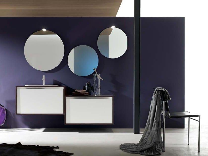 Sistema bagno componibile E.GÒ - COMPOSIZIONE 14 by Arcom
