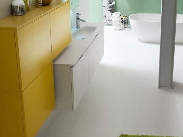 Larch bathroom cabinet / vanity unit E.GÒ - COMPOSITION 24 by Arcom