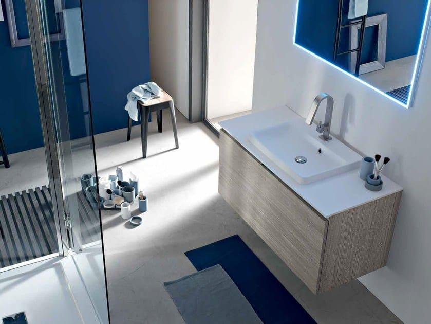 Sistema bagno componibile E.GÒ - COMPOSIZIONE 29 by Arcom