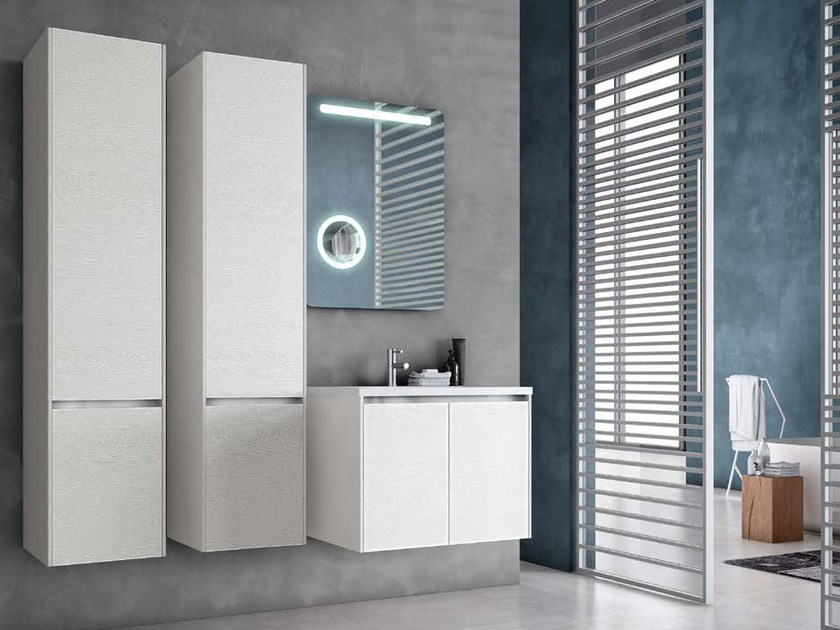 Wooden bathroom cabinet / vanity unit E.GÒ - COMPOSITION 33 by Arcom