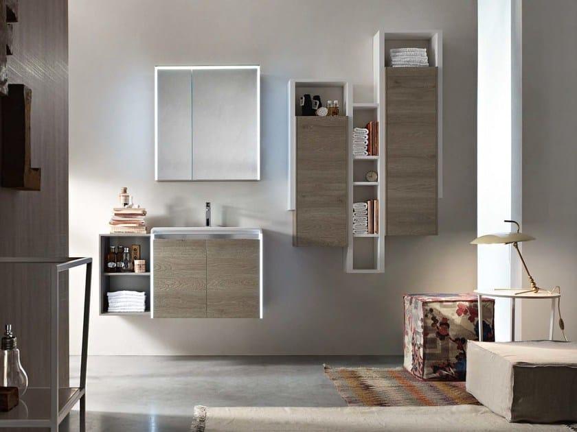 Sistema bagno componibile E.GÒ - COMPOSIZIONE 36 by Arcom