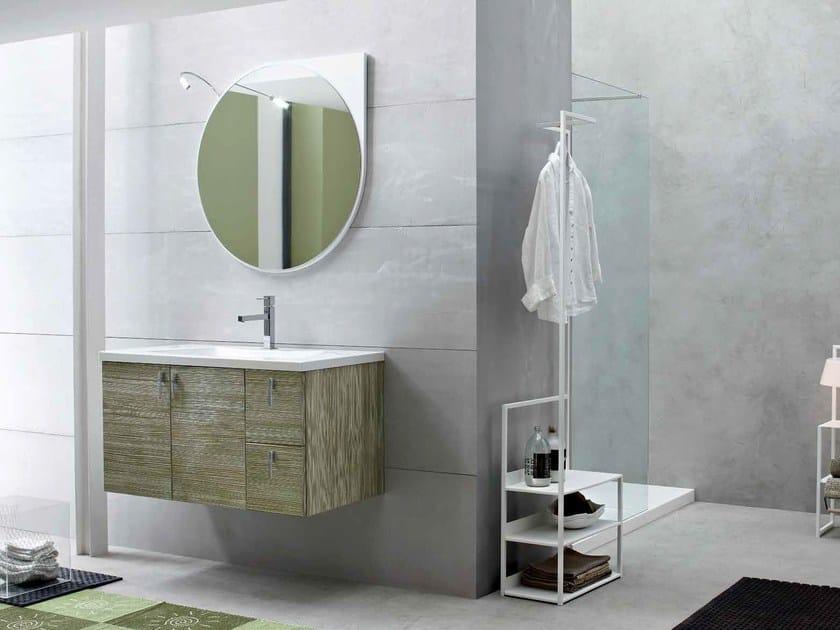 Sistema bagno componibile E.LY - COMPOSIZIONE 42 by Arcom