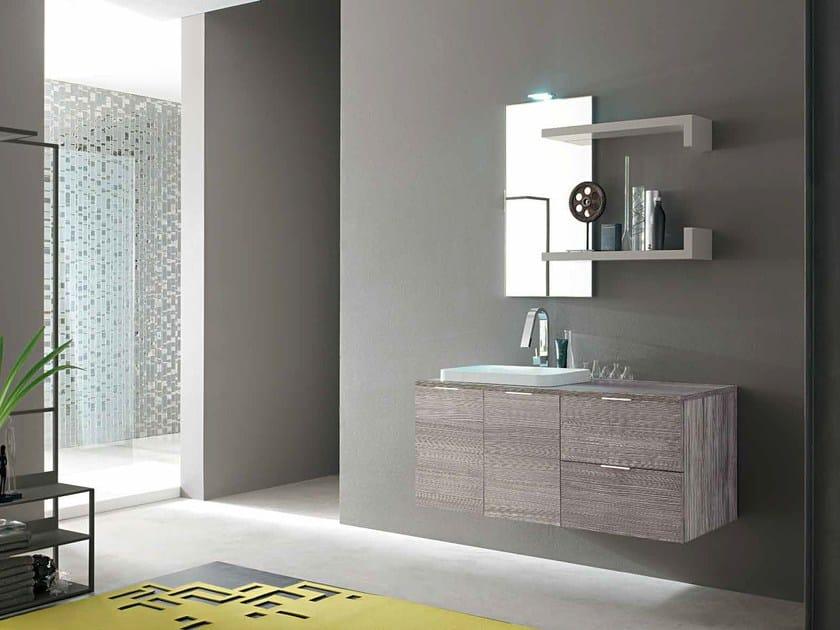 Sistema bagno componibile E.LY - COMPOSIZIONE 43 by Arcom