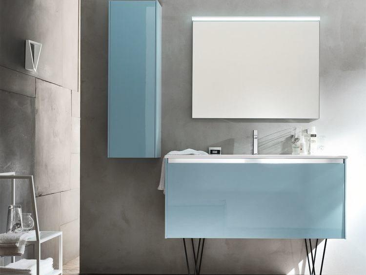 Sistema bagno componibile E.GÒ - COMPOSIZIONE 46 by Arcom
