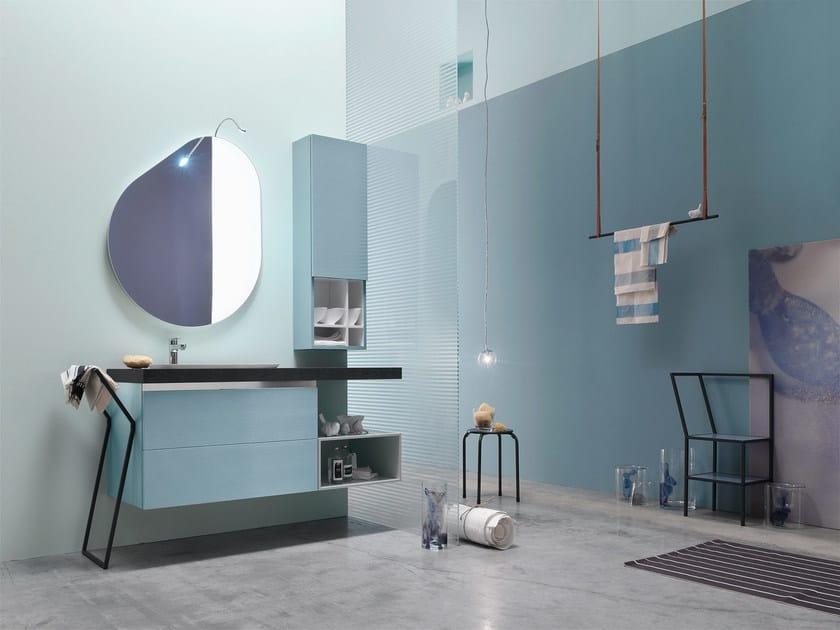 Bathroom cabinet / vanity unit E.GÒ - COMPOSITION 47 by Arcom
