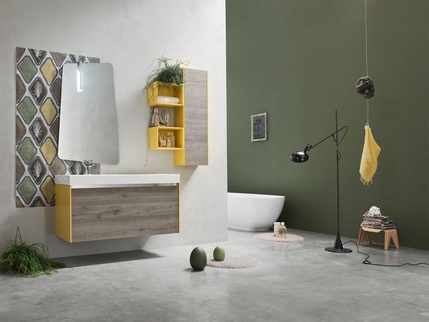 Sistema bagno componibile E.GÒ - COMPOSIZIONE 50 by Arcom