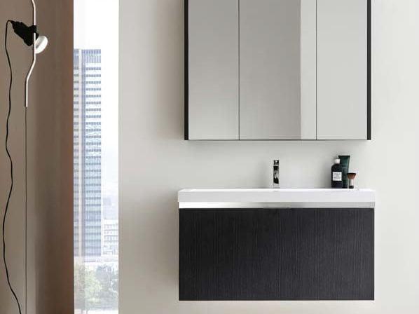 Sistema bagno componibile E.GÒ - COMPOSIZIONE 6 by Arcom