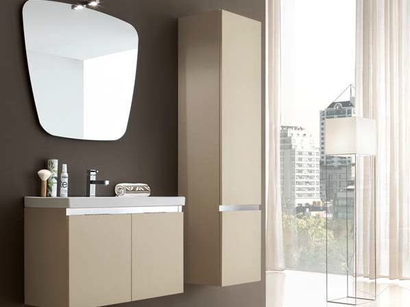 Ash bathroom cabinet / vanity unit E.GÒ - COMPOSITION 7 by Arcom