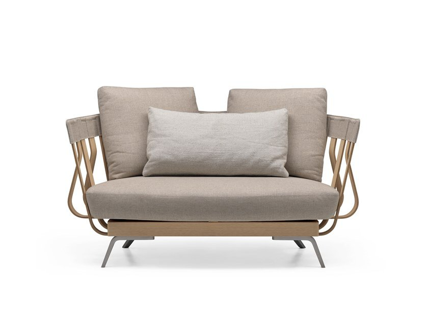 Fabric small sofa E LA NAVE VA ARMCHAIR - 02A by Alias